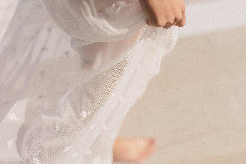 Foto Vestido Novia Atico Plumeria